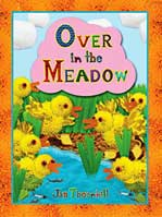 Cover of Over in the Meadow - a traditional counting rhyme