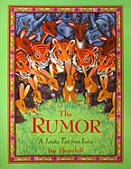 cover of The Rumor: A Jataka Tale from India - a Buddhist story picture book
